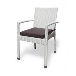 "Плетеное кресло ""Milano"" white"