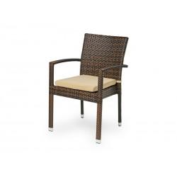"Плетеное кресло ""Milano"" dark brown"