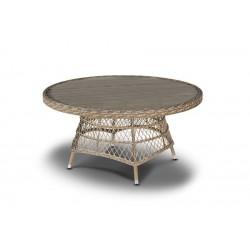 """Плетеный стол  """"Неаполь"""" D152 см"""