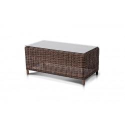 """Плетеный кофейный стол """"Макиато"""" коричневый"""