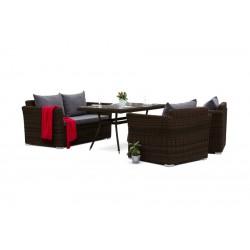 """Мебель из ротанга """"Аффогато"""" коричневая"""