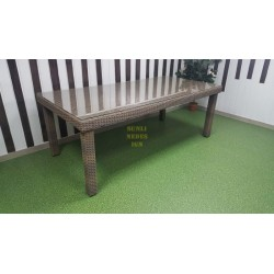 Плетеный обеденный стол «Infinity» 200х100 см