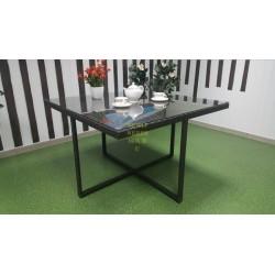 Плетеный обеденный стол «New York» 120х120 см