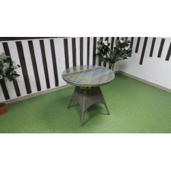 Плетеный стол «Samurai» natur D80