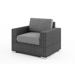 Плетеное кресло «Acoustic» grey