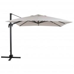 """Зонт """"Linz"""" 300х300, серый каркас/купол хаки"""