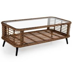 "Плетеный кофейный стол ""Covelo"" 122х61 см"