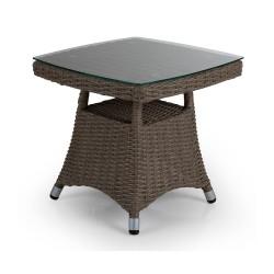 """Плетеный стол """"Ashfield"""" beige 50х50"""