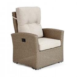 "Плетеное регулируемое кресло ""Ashfield"" beige"
