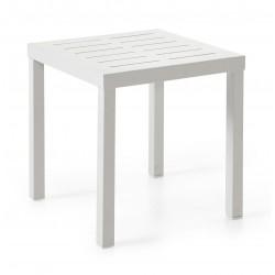 "Стол из алюминия ""Belfort"" white 50х50"