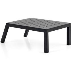 """Стол приставной из алюминия """"Belfort"""" black 84х50"""