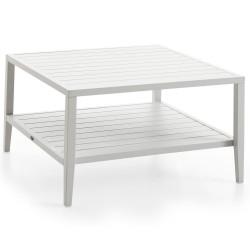 """Стол """"Chelles"""" white из алюминия, 90x90 см"""