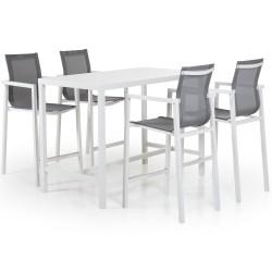 """Мебель из алюминия """"Belfort"""" white для бара"""