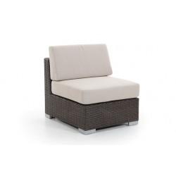 """Угловой диван """"Sander"""" brown, центральный модуль"""