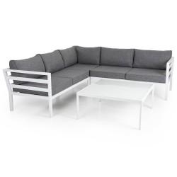 "Садовая мебель из алюминия ""Weldon & Leone "" white"