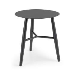 """Стол из алюминия """"Vannes""""  D45, цвет антрацит"""