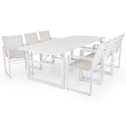 """Садовая мебель из алюминия """"Vevi"""" white"""