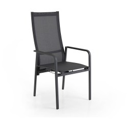 "Кресло из алюминия ""Renoso"" anthracite"
