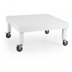 """Стол из алюминия """"Ambon"""" white 89х89"""