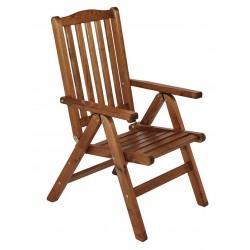 """Кресло из сосны """"Liman"""", цвет капучино"""