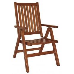 """Кресло из сосны """"Fronto"""", цвет капучино"""