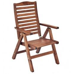 """Кресло из сосны """"Atol"""", цвет капучино"""