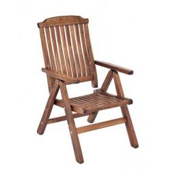 """Кресло из сосны """"Primo"""", цвет капучино"""