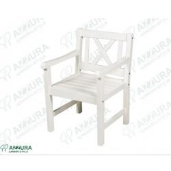 """Кресло """"Onsala white"""" из сосны"""