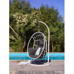 """Подвесное кресло """"Palo"""" из алюминия, цвет белый"""