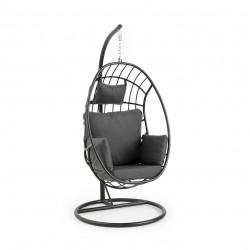 """Подвесное кресло """"Palo"""" из алюминия, цвет черный"""