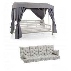 """Качели кровать """"Heaven"""" white, полная комплектация"""