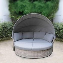 """Плетеный диван-кровать """"AFM-325G Grey"""""""