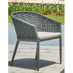 """Плетеное кресло """"Lanai"""", цвет серый"""