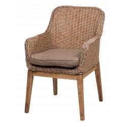 """Плетеное кресло """"Coco"""" натуральное"""