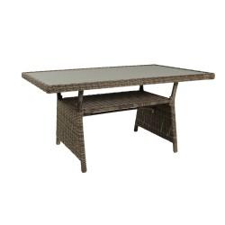 "Плетеный стол ""Soho"" rustic, 143х86 см"
