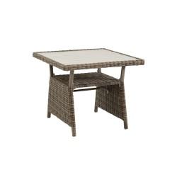 "Плетеный стол ""Soho"" rustic, 86х86 см"