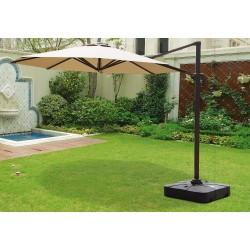 """Зонт садовый GardenWay """"Miami"""" бежевый"""