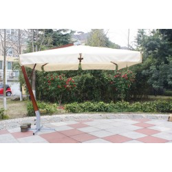 """Зонт для кафе тент-шатер GardenWay """"Paris"""" кремовый"""