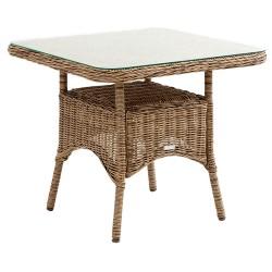 "Плетеный стол ""Rosita"" natur 80х80"