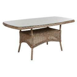 "Плетеный стол ""Rosita"" natur 150х80"