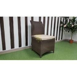 Плетеный стул «Rose» brown