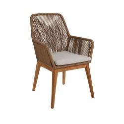 """Плетеное кресло """"Hassel"""" обеденное"""