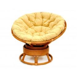 Кресло Papasan цвет мед