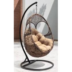 """Подвесное кресло """"Solar"""" из ротанга"""