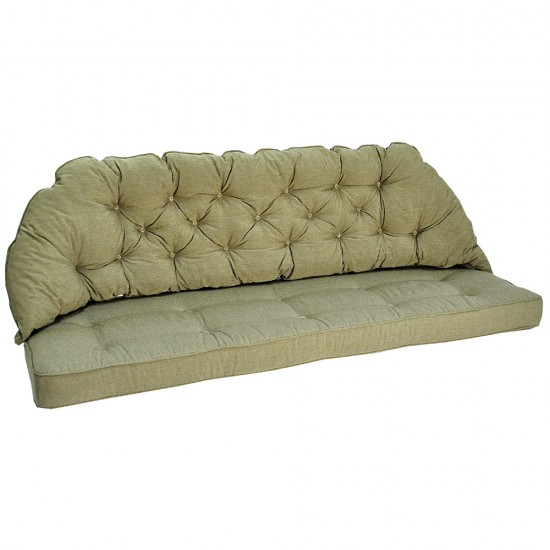 Подушка для софы Sabina beige, 3х местная
