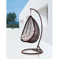 """Плетеное подвесное кресло кокон """"Basel"""""""