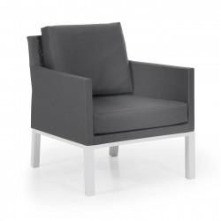 Кресло Balma white/grey