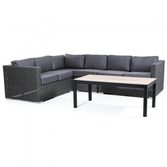 """Плетеная мебель """"Brookline"""" grey"""