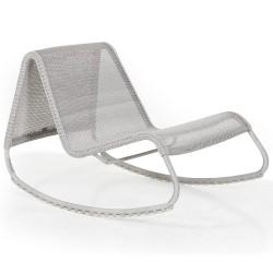 Кресло-качалка Corbas white