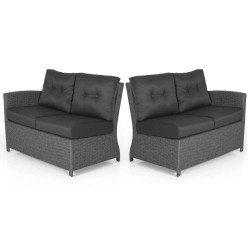 """Кушетки 2-х местные углового дивана """"Soho"""" grey правое+левое"""